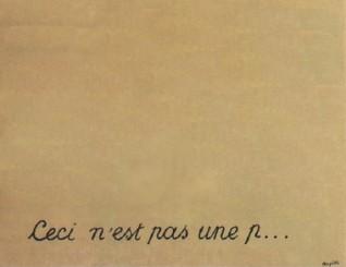 Le tableau de Magritte version bienpensance