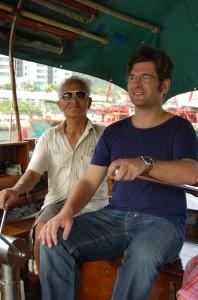 En Chine, il y a trois ans, à la recherche du Dahut de mer.