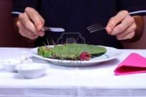 7762127-homme-cactus-manger-dans-un-restaurant-concept-alimentaire-malsaine