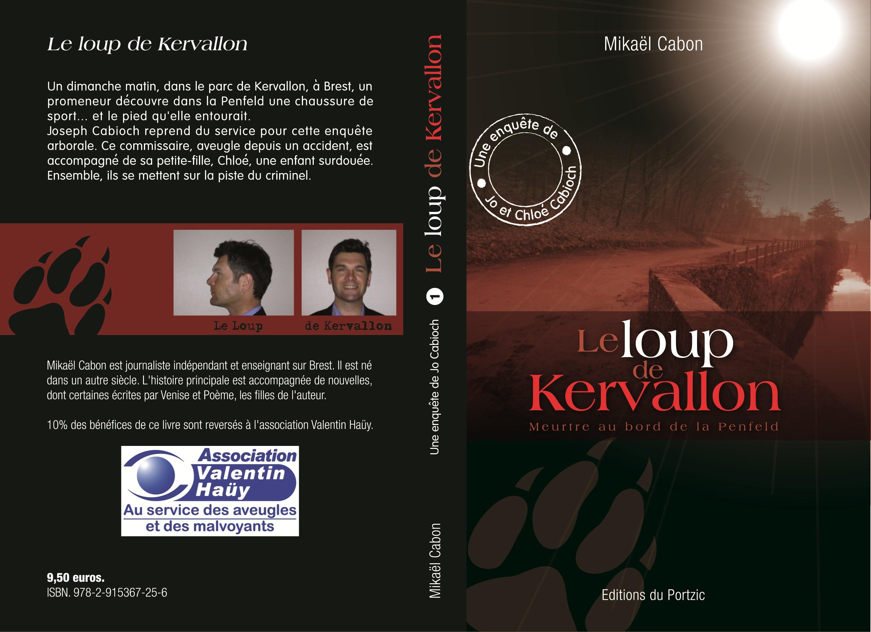 Roman policier. Le loup de Kervallon sort du bois