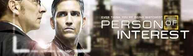 Séries. Person of interest. The machine is watching you.