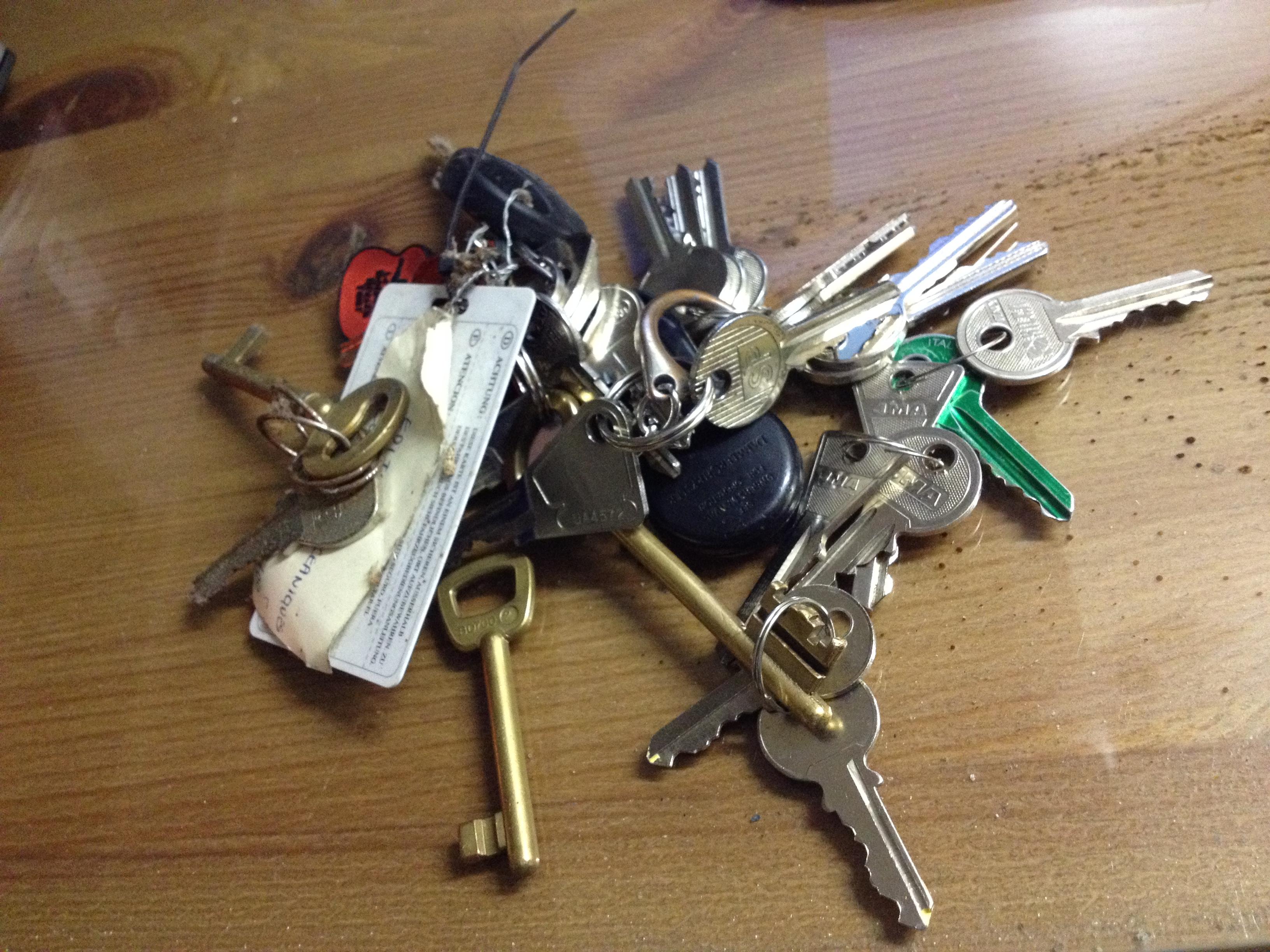 Les clés du paradis